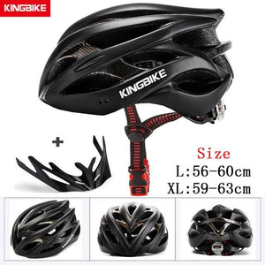 MTB Road Cycling Helmets Ultralight Bikewest.com A-629-black l56-60CM