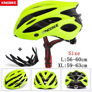 MTB Road Cycling Helmets Ultralight Bikewest.com A-629-green l56-60CM