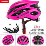 Load image into Gallery viewer, MTB Road Cycling Helmets Ultralight Bikewest.com A-629-rose pink l56-60CM