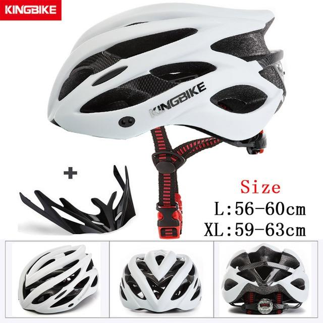 MTB Road Cycling Helmets Ultralight Bikewest.com A-629-white l56-60CM