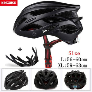 MTB Road Cycling Helmets Ultralight Bikewest.com A-652-black l56-60CM