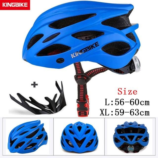 MTB Road Cycling Helmets Ultralight Bikewest.com A-652-blue l56-60CM
