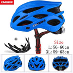 Load image into Gallery viewer, MTB Road Cycling Helmets Ultralight Bikewest.com A-652-blue l56-60CM