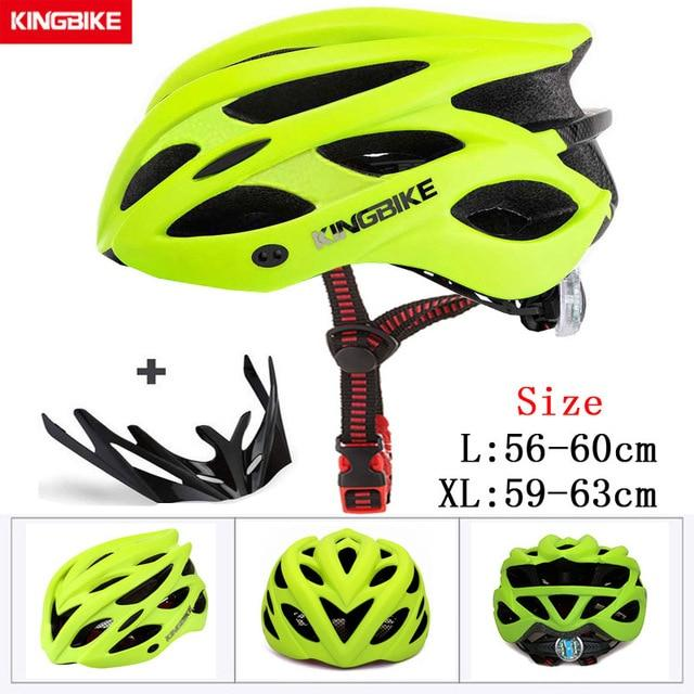 MTB Road Cycling Helmets Ultralight Bikewest.com A-652-green l56-60CM