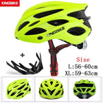 Load image into Gallery viewer, MTB Road Cycling Helmets Ultralight Bikewest.com A-652-green l56-60CM