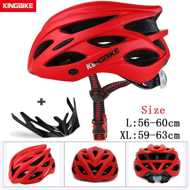 MTB Road Cycling Helmets Ultralight Bikewest.com A-652-red l56-60CM