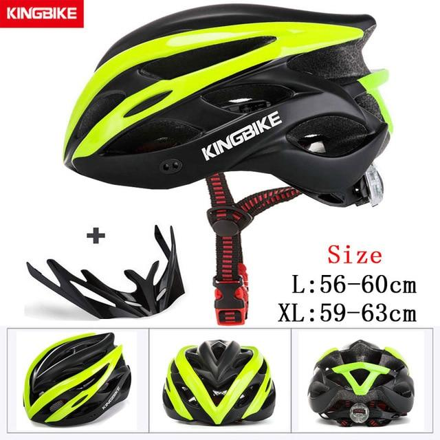 MTB Road Cycling Helmets Ultralight Bikewest.com A-872-green l56-60CM