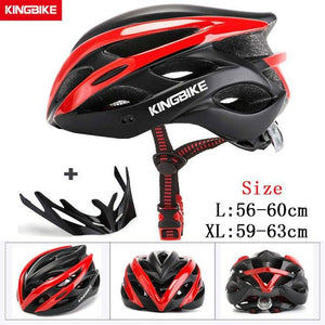 MTB Road Cycling Helmets Ultralight Bikewest.com A-872-red l56-60CM