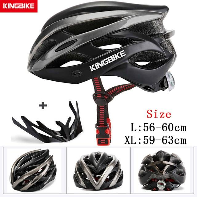 MTB Road Cycling Helmets Ultralight Bikewest.com A-872-titan l56-60CM