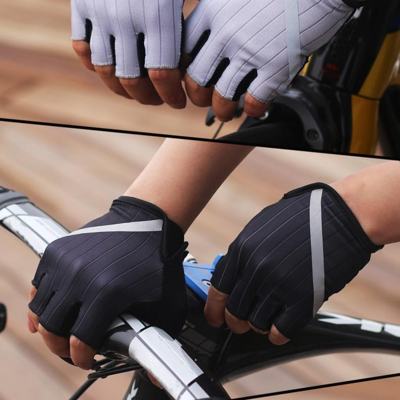 New Cycling Gloves Highly Reflective with Anti Slip Socks Bikewest.com