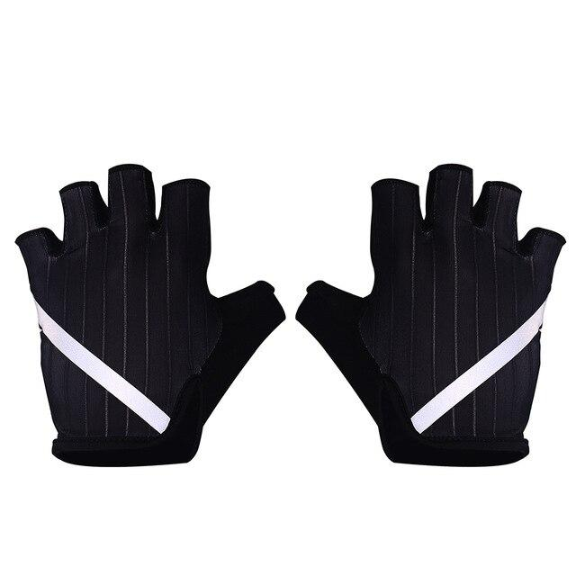 New Cycling Gloves Highly Reflective with Anti Slip Socks Bikewest.com Gloves Black XL