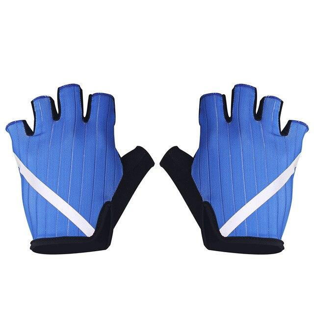 New Cycling Gloves Highly Reflective with Anti Slip Socks Bikewest.com Gloves Blue L