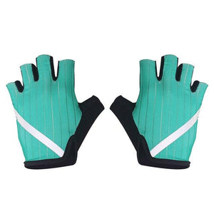 New Cycling Gloves Highly Reflective with Anti Slip Socks Bikewest.com Gloves Green XL