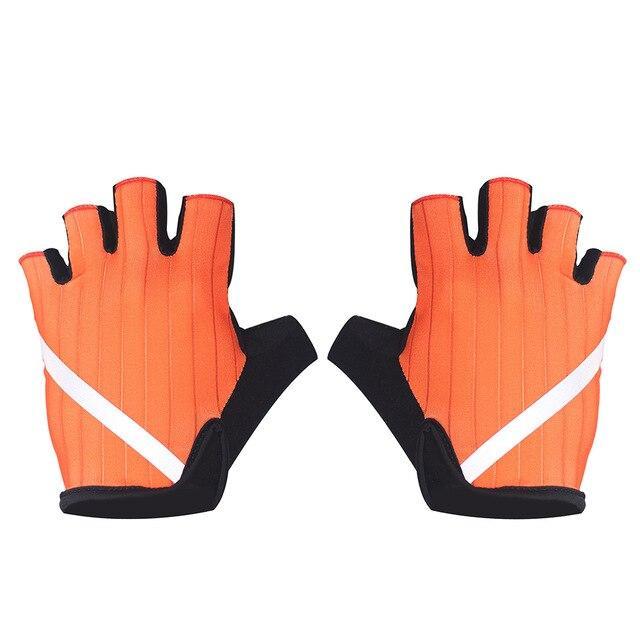 New Cycling Gloves Highly Reflective with Anti Slip Socks Bikewest.com Gloves Orange XL