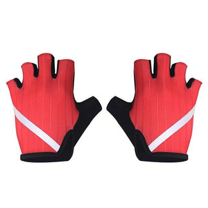 New Cycling Gloves Highly Reflective with Anti Slip Socks Bikewest.com Gloves Red XL