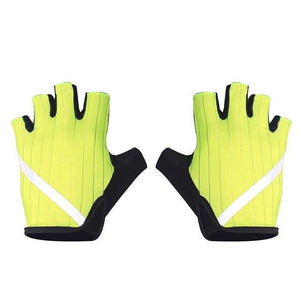 New Cycling Gloves Highly Reflective with Anti Slip Socks Bikewest.com Gloves Yellow XL