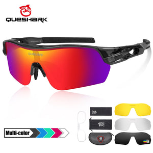 New Design Polarized Sport Sunglasses 4 HD Bikewest.com