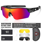 Load image into Gallery viewer, New Design Polarized Sport Sunglasses 4 HD Bikewest.com Clear Grey