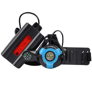Night Running Flashlight Bikewest.com Black Blue