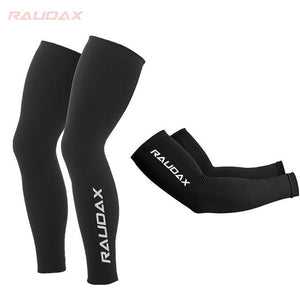 Pro Team MAVIC Cosmic Leg Warmers Black UV Protection Cycling Arm Bikewest.com 5 XL