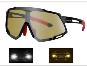 Professional Polarized 5 Len Cycling Glasses Bikewest.com