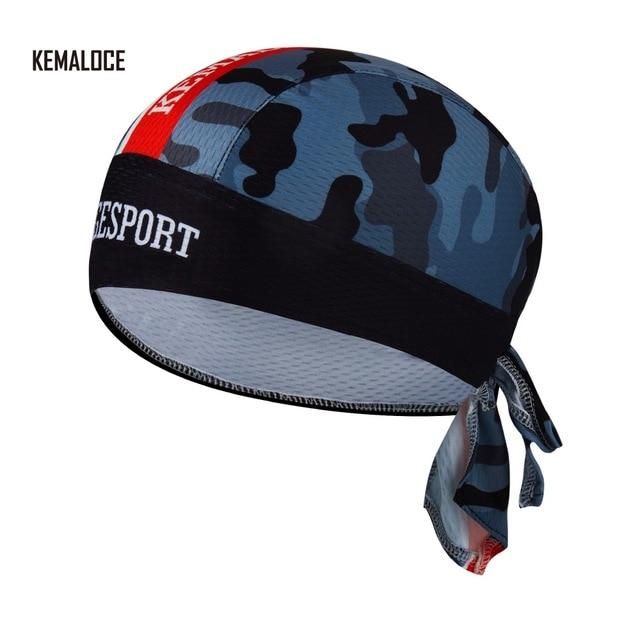 Protection Team Men Summer Full Sublimation Cycling Cap Bikewest.com KEMALOCE-CB-009