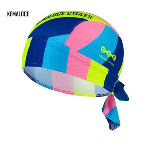 Protection Team Men Summer Full Sublimation Cycling Cap Bikewest.com KEMALOCE-CB-010