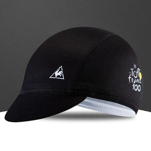 Quick-Drying Polyester Cycling Hat Bicycle Cap Bikewest.com Black