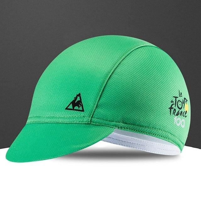 Quick-Drying Polyester Cycling Hat Bicycle Cap Bikewest.com Green