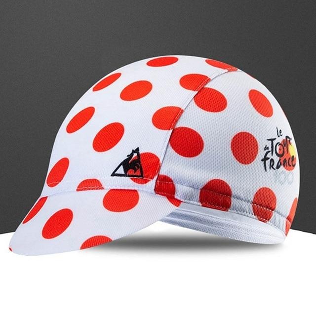 Quick-Drying Polyester Cycling Hat Bicycle Cap Bikewest.com Red