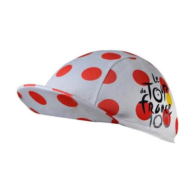 Quick-Drying Polyester Cycling Hat Bikewest.com Red