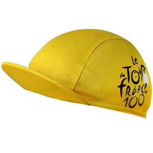 Quick-Drying Polyester Cycling Hat Bikewest.com Yellow