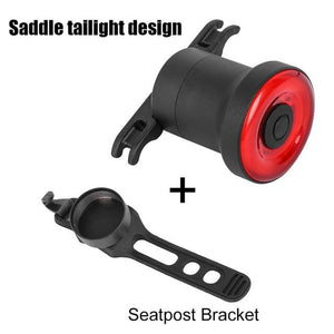 Rear Bicycle Lights Bikewest.com LightSeatpostBracket