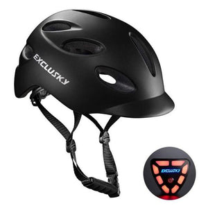 Red Bike Bicycle Outdoor Safety Sport Cap With Led Light USB Bikewest.com 01