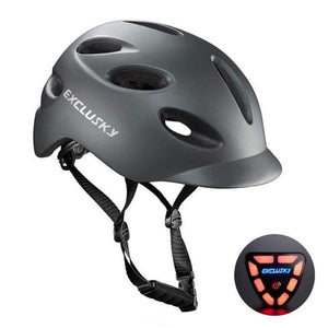 Red Bike Bicycle Outdoor Safety Sport Cap With Led Light USB Bikewest.com 02