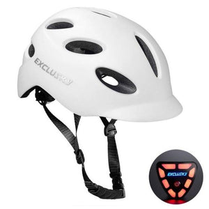 Red Bike Bicycle Outdoor Safety Sport Cap With Led Light USB Bikewest.com 03