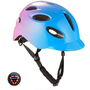 Red Bike Bicycle Outdoor Safety Sport Cap With Led Light USB Bikewest.com 04