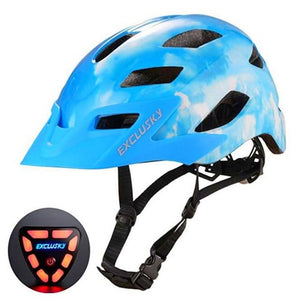 Red Bike Bicycle Outdoor Safety Sport Cap With Led Light USB Bikewest.com 05