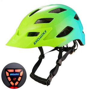 Red Bike Bicycle Outdoor Safety Sport Cap With Led Light USB Bikewest.com 06