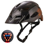 Load image into Gallery viewer, Red Bike Bicycle Outdoor Safety Sport Cap With Led Light USB Bikewest.com 07