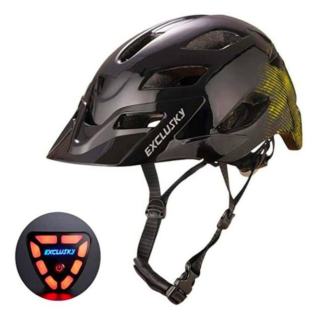 Red Bike Bicycle Outdoor Safety Sport Cap With Led Light USB Bikewest.com 08