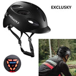 Load image into Gallery viewer, Red Bike Bicycle Outdoor Safety Sport Cap With Led Light USB Bikewest.com
