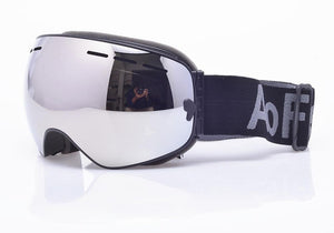 Ski Snowboard Goggles. UV400 Big Spherical Mask Glasses Bikewest.com