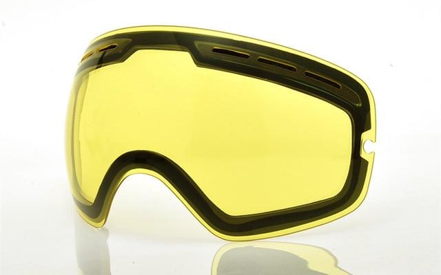 Ski Snowboard Goggles. UV400 Big Spherical Mask Glasses Bikewest.com Night vision lens