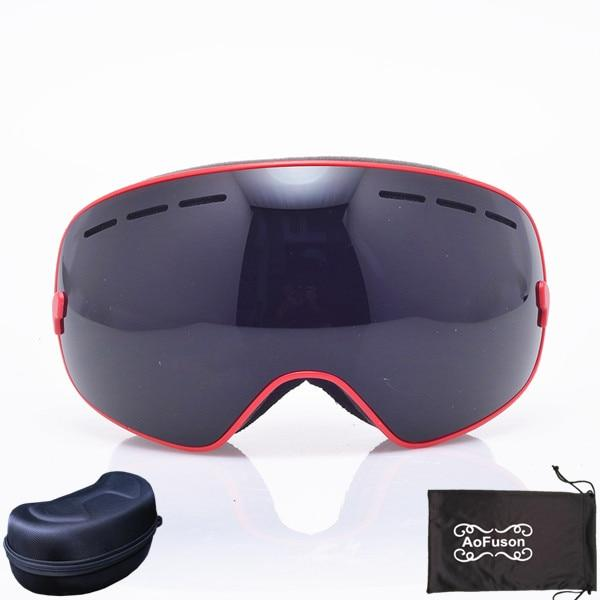 Ski Snowboard Goggles. UV400 Big Spherical Mask Glasses Bikewest.com NO.12