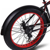 Snowmobile Bicycle fender Bikewest.com black China