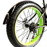 Snowmobile Bicycle fender Bikewest.com Bright black Russian Federation