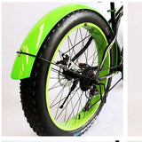 Snowmobile Bicycle fender Bikewest.com Bright green Russian Federation