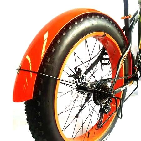 Snowmobile Bicycle fender Bikewest.com Bright Orange China