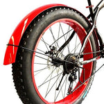 Snowmobile Bicycle fender Bikewest.com Bright red Russian Federation